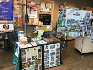 A picture of South Jersey Quail Project's booth.